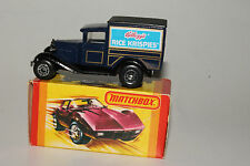 MATCHBOX #MB38 FORD MODEL A DELIVERY TRUCK, KELLOGG'S RICE KRISPIES, NEW IN BOX