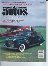 SPECIAL INTEREST AUTO - #84 / 1937 Chrysler Imperial / 1963 Pontiac Grand Prix +