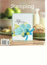 CREATE STAMPING INSPIRATION INKED,  SCRAPBOOK TRENDS,  2013   ( LIFE IS SWEET )