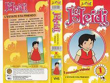 HEIDI L'ESTATE STA FINENDO - VHS