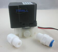 "24V 1/4"" Waster Auto Flush Water Solenoid Valve with restrictor RO system"