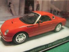 JAMES BOND CARS COLLECTION FORD THUNDERBIRD DIE ANOTHER DAY