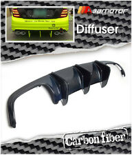 Carbon Fiber Big Fin Rear Diffuser for Mercedes W204 C63 Pre-Facelift AMG Bumper