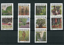 Zimbabwe 2015 MNH Victoria Falls 8th Definitive Iss 10v Set Zambezi Trees Stamps