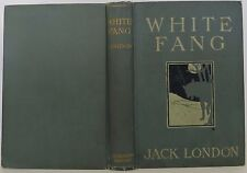 JACK LONDON White Fang FIRST EDITION