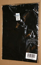 Assassin's Creed Unity very rare  promo T-Shirt Shirt from Gamescom 2014 size L