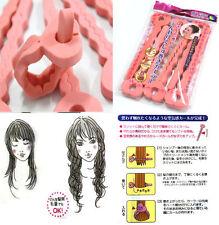 6pcs Magic Sponge Hair Soft Curler Roller Strip Heatless Roll Style Tools hot T7