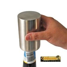 BOTTLE HAMMER AUTOMATIC BOTTLE OPENER Magnetic Stainless Steel Soda Beer Party