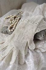 Jeanne D´Arc Living patinierte vintage Handschuhe, shabby Deko
