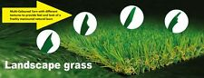 20mm Synthetic Turf or Grass 10 SQM (2MX5M) - high density, soft & natural look