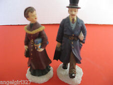 MERVYN'S CHRISTMAS VILLAGE SQUARE - Businessman and Wife