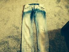 Men's Diesel Jean Krooley Bleach faded 34x32 Jeans Italian