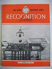 The Royal Observer Corps Recognition Journal. Vol. 9. No. 12. December, 1967.