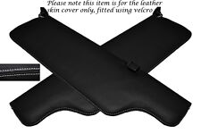 WHITE STITCHING FITS JAGUAR XJ6 SERIES 2 2X SUN VISORS LEATHER COVERS ONLY