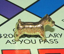Monopoly Limited Edition Board Game Part: SCOTTIE DOG TOKEN Golden Gold Target
