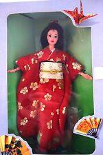 POUPEE mannequin BARBIE en KIMONO JAPONAIS luxe Japanese vintage doll mattel NEW