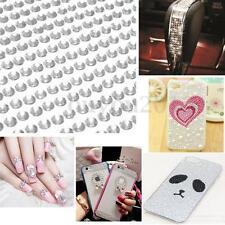 Perle Autocollant Strass Cristal Diamant Adhésif Décoratif Scrapbooking Sticker