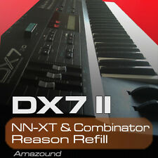 DX7 II REASON REFILL SAMPLES for NNXT COMBINATOR 24bit AMAZING QUALITY