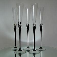 5 FLUTES à CHAMPAGNE 35 cm - design Nanny Still - ROSENTHAL Studio Linie Glasses