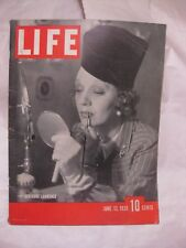 Life Magazine June 13th 1938 Gertrude Lawrence Published By Time            mg63