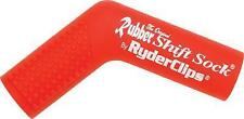 Ryder Clips - RSS-RED - Rubber Shift Sock, Red`