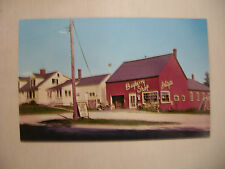 VINTAGE POSTCARD THE BAYBERRY SHOP IN SEARSPORT MAINE UNUSED