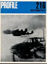 AIRCRAFT PROFILE 216 BLUE PETLYAKOV Pe-2 WW2 RUSSIA VVS BOMBER FIGHTER RECCE