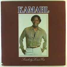 """12"""" LP - Kamahl - Somebody Loves You - A2670h - washed & cleaned"""