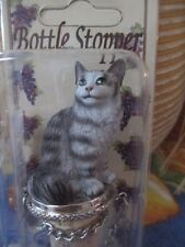 MAINE COON  SILVER ~ WINE STOPPER