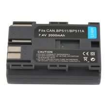 Replacement 7.4V 2000MAH Rechargeable Li-Ion Battery for CANON BP-511/511A SL