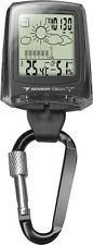 Dakota Watch Co. Weather Station, Digital Clip Watch Black 3699-1