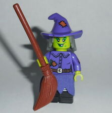 """COLLECTIBLE MINIFIGURE Lego Series 14 """"WACKY WITCH""""  71010 Genuine Lego No Cat"""