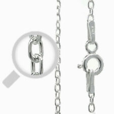 """Silver Italy Cable 040 Chain 0.9mm Sterling Silver 925 Best Price Jewelry 18"""""""