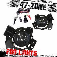 1x Pair Clear Lens Fog Light Lamps Kit For 2010-2012 Nissan Altima 4-Door Sedans