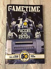2016 Indiana Pacers Gametime Program Magazine 1970s Night 12/10/2016