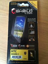Protector de pantalla, HTC Desire C Zagg Invisible Shield