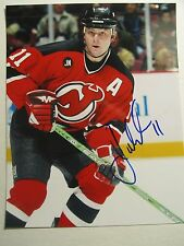 JOHN MADDEN  AUTOGRAPH photo NEW JERSEY DEVILS USA signed GLOSSY 8x10 COA