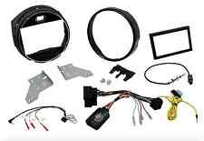 RADIO MÁSCARA NAVEGANTES KIT COMPLETO 2 DIN DOBLES BMW MINI F55 F56 2014