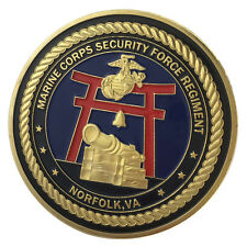 United States Marine Corps Security Force Regiment / USMC Challenge Coin 1223#