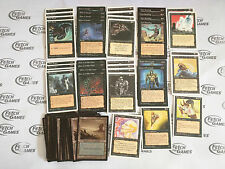 Old Black Deck -60 Cards - Mono Black - Ready to Play - MTG Magic FTG