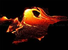 NATURE VOLCANO LAVA FLOW BEAUTIFUL ROCK POSTER ART PRINT HOME PICTURE BB1615A