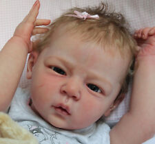 New Reborn Baby Doll Kit LINDA By Linde Scherer@New Light & Soft Vinyl@ 20""