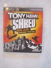 Sony Playstation 3 PS3 Tony Hawk Shred Game - Free Shipping!