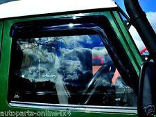 Land Rover Defender Delantero Desviadores de viento de ventana-DA6078