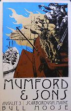 MUMFORD & SONS, BULL MOOSE POSTER (B10)