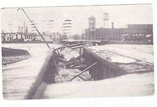 COLUMBUS OHIO  POSTCARD 1913 FLOOD DAMAGE