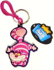 CHESHIRE CAT Keychain Disney Alice in Wonderland charm keyring Chesh pvc
