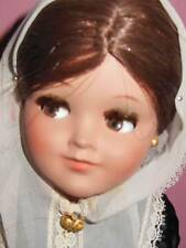 VINTAGE FLIRTY EYE CELLULOID DE ALBA SPAIN DOLL ALL ORIGINAL