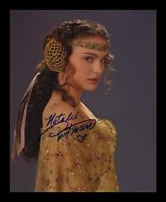 NATALIE PORTMAN AUTOGRAPHED SIGNED & FRAMED PP POSTER PHOTO
