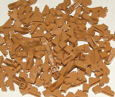 LEGO LOT OF 100 NEW MEDIUM DARK FLESH 1 x 3 x 2 CASTLE ARCH TREE BRANCHES PARTS